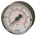 Type 111.12 Standard Series Pressure Gauges - Center Back Mount