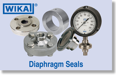WIKA Diaphragm Seals