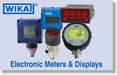 WIKA Electronic Pressure Measurement
