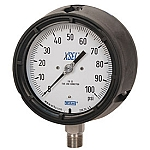Model 233.34 Liquid Filled Case Process Gauge - 0 - 160 PSI - 1/2