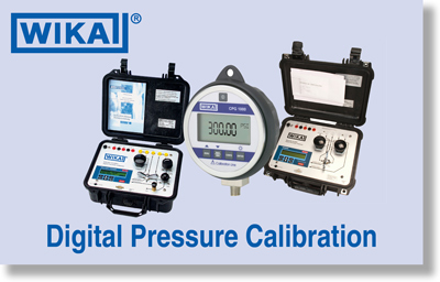 WIKA Digital Calibration Products