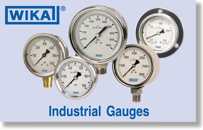 WIKA Stainless Syeel Industrial Gauges