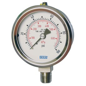"Type 232.53 Pressure Gauge / 0 - 60 psi  / 1/4"" NPT"