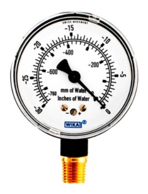 WIKA Type 611 10 Pressure Gauge (9852344) 0 - 30