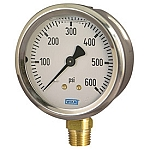 Type 213.53 Stainless Steel Case Liquid Filled Pressure Gauges
