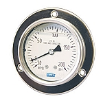 Type 233.55 All Stainless Steel Panel Builder Pressure Gauges