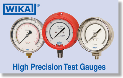 Wika High Precision Test Gauges