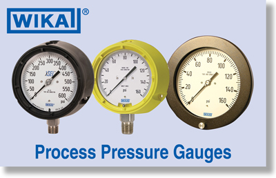 WIKA Process Pressure Gauges