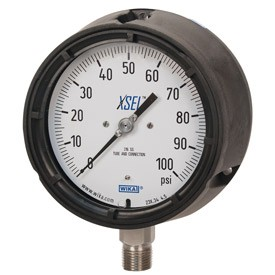 WIKA Type 232.34 Dry Case Process Gauge - 0 - 200 psi - 9834885